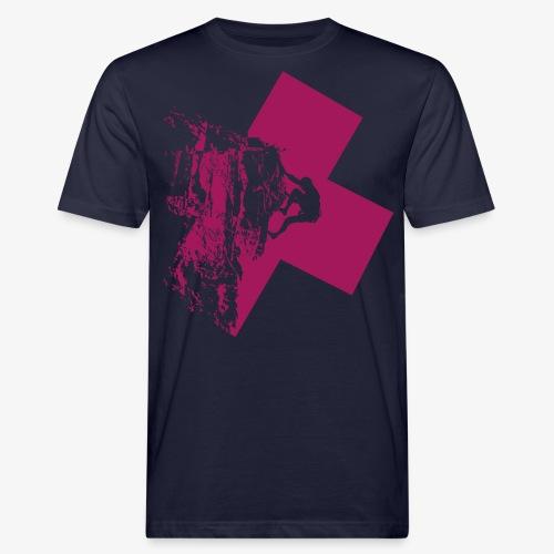 Climbing away - Men's Organic T-Shirt