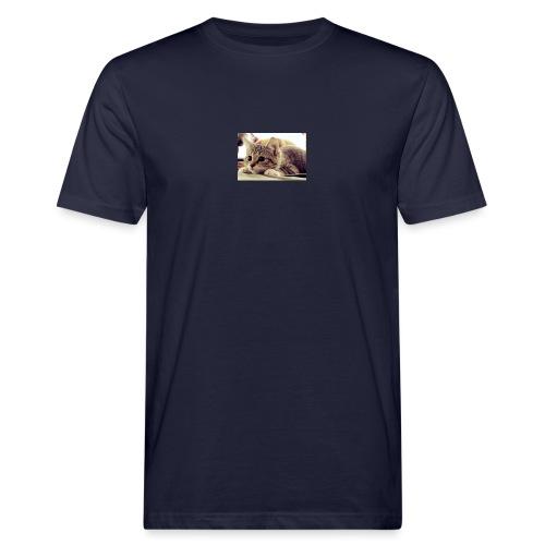 gato tierno - Camiseta ecológica hombre