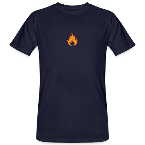 Flame WHITE - T-shirt bio Homme