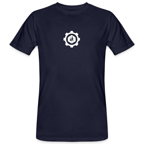 Jebus Adventures Cog White - Men's Organic T-Shirt