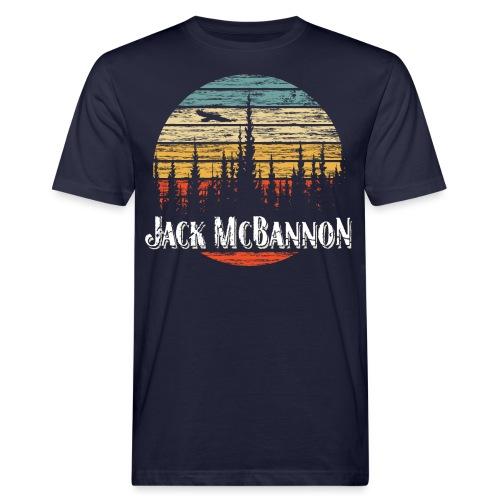 Jack McBannon - Forest Sundown - Männer Bio-T-Shirt