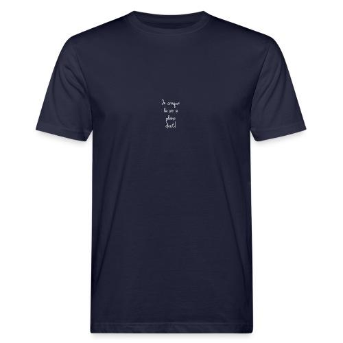Je croque la vie à plein dent - T-shirt bio Homme