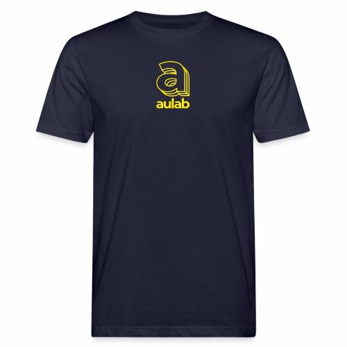 Marchio aulab giallo - T-shirt ecologica da uomo