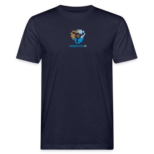 kopfgraetsche logo 2013 shirt - Männer Bio-T-Shirt