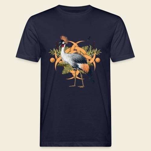 Kronenkranich - Männer Bio-T-Shirt