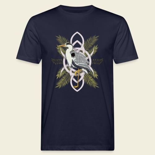 Reiher - Männer Bio-T-Shirt