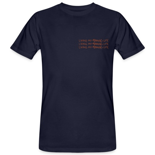 Living my Breast Life - Männer Bio-T-Shirt