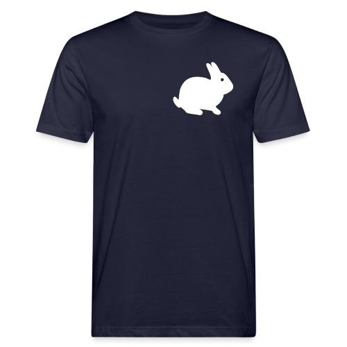 Hasenpower mit Spruch von Laotse - Männer Bio-T-Shirt