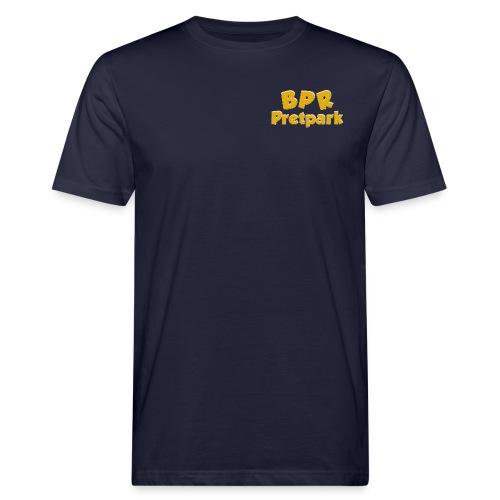 BPR Pretpark borstlogo - Mannen Bio-T-shirt