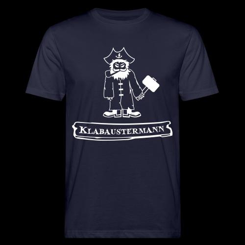 Klabaustermann - Männer Bio-T-Shirt
