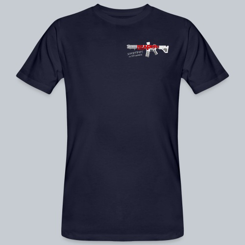 CLASSIC - REAPERs Airsoft - Männer Bio-T-Shirt