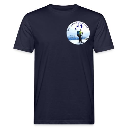 Logo cartone ciaspole - T-shirt ecologica da uomo