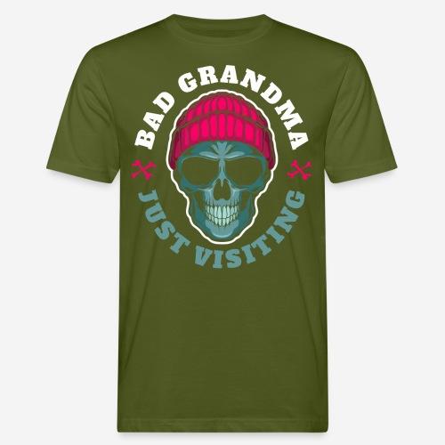 bad oma Großmutter - Männer Bio-T-Shirt