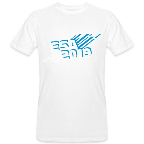 ESA 2019 - Winter Blue - Men's Organic T-Shirt