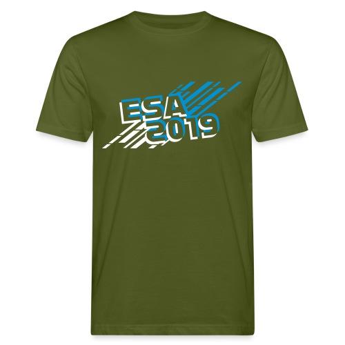 ESA 2019 - Winter Blue - Men's Organic T-Shirt