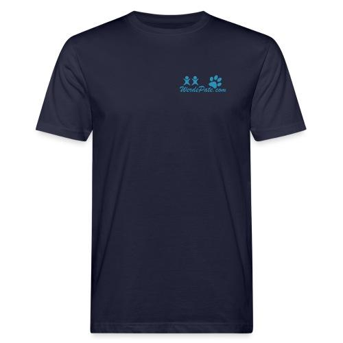 WerdePate Black White - Männer Bio-T-Shirt