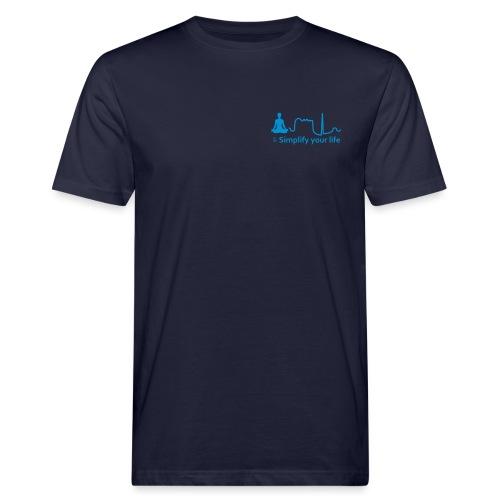 Simplify Your Life MonoCr - T-shirt ecologica da uomo
