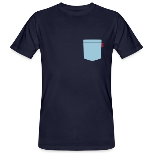 Tasche_Schwarz - Männer Bio-T-Shirt