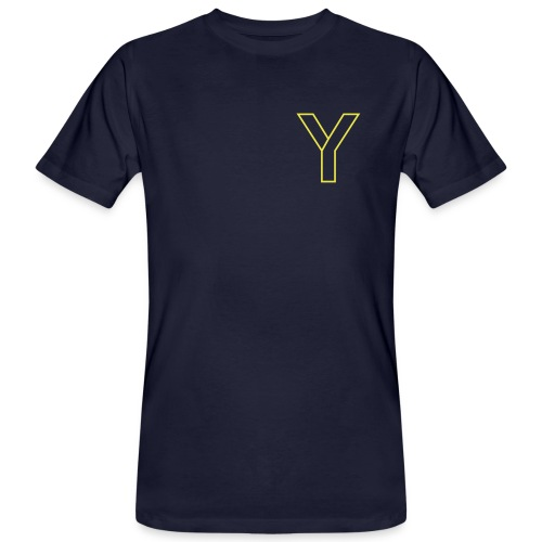 ChangeMy.Company Y Yellow - Männer Bio-T-Shirt