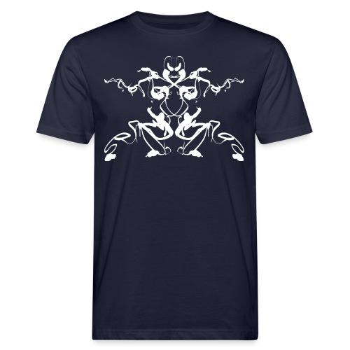 Rorschach test of a Shaolin figure Tigerstyle - Men's Organic T-Shirt