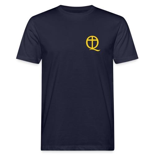 QC Gul - Ekologisk T-shirt herr
