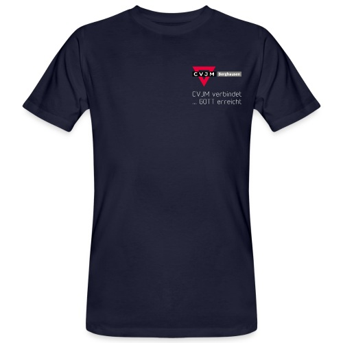 CVJM-Bgh-2019-vorne - Männer Bio-T-Shirt