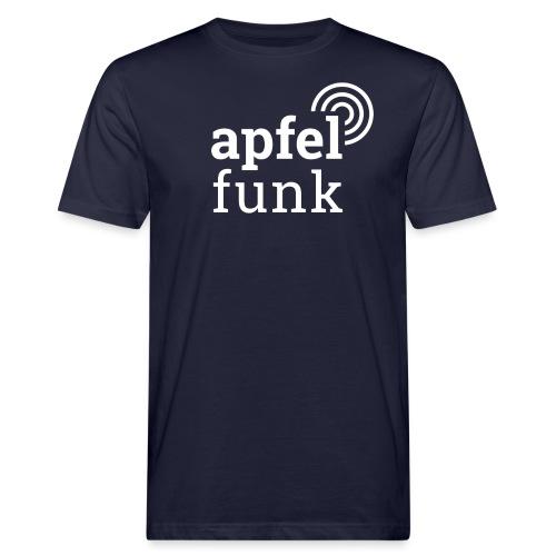Apfelfunk Dark Edition - Männer Bio-T-Shirt