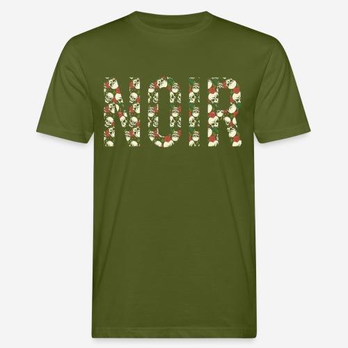 noir dunkelschwarz - Männer Bio-T-Shirt
