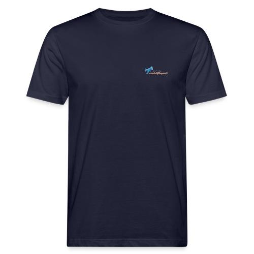 Modellflugwelt Flugzeug u. Schriftzug - Männer Bio-T-Shirt