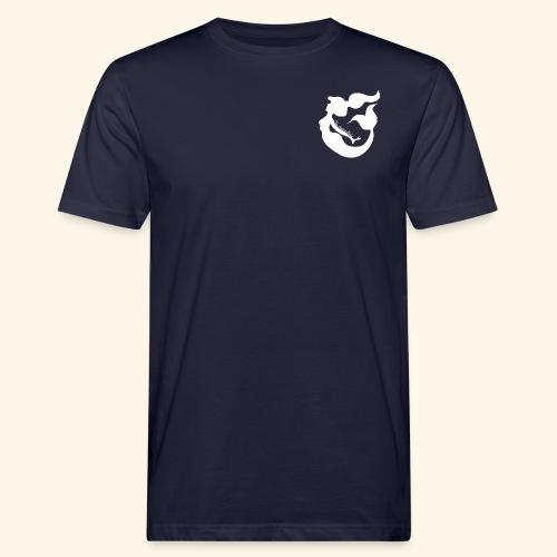 Logo blanc - T-shirt bio Homme