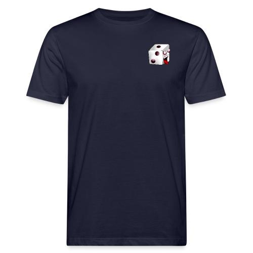 TBG - Logo + Würfelzilla (R) - Männer Bio-T-Shirt