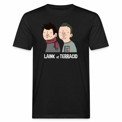 Laink et Terracid - T-shirt bio Homme
