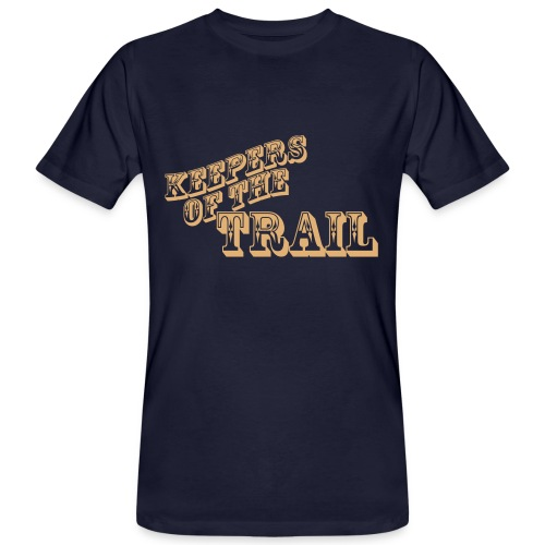 keepers-of-the-trail - Männer Bio-T-Shirt