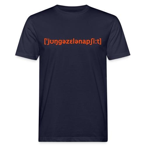 Junggesellenabschied Lautschrift - Männer Bio-T-Shirt