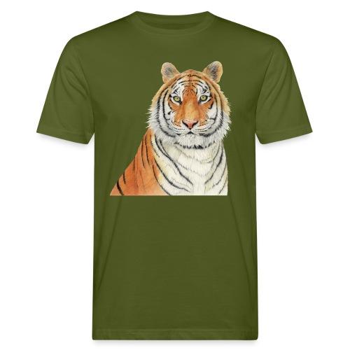 Tigre,Tiger,Wildlife,Natura,Felino - T-shirt ecologica da uomo