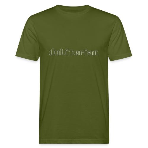 dubiterian1 gif - Men's Organic T-Shirt