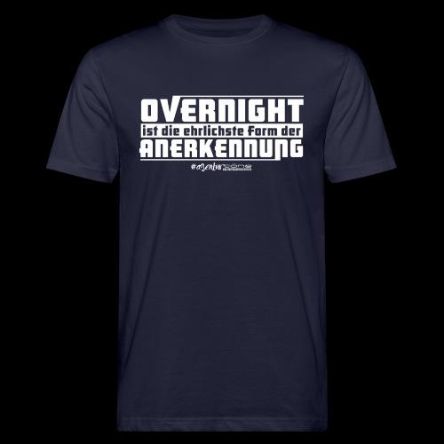 Overnight - Männer Bio-T-Shirt