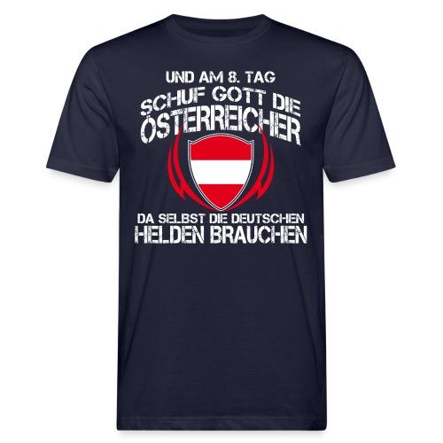 Am 8 Tag schuf Gott die Österreicher - Männer Bio-T-Shirt