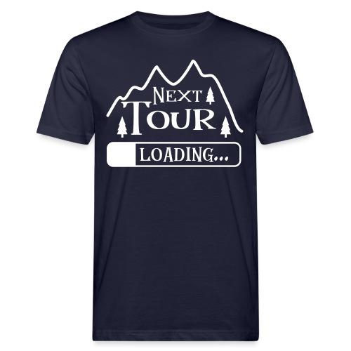 Wandern Klettern Bergsteigen Tour Laden Berg Natur - Männer Bio-T-Shirt