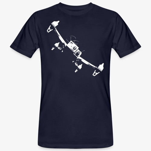 quadflyby2 - Men's Organic T-Shirt
