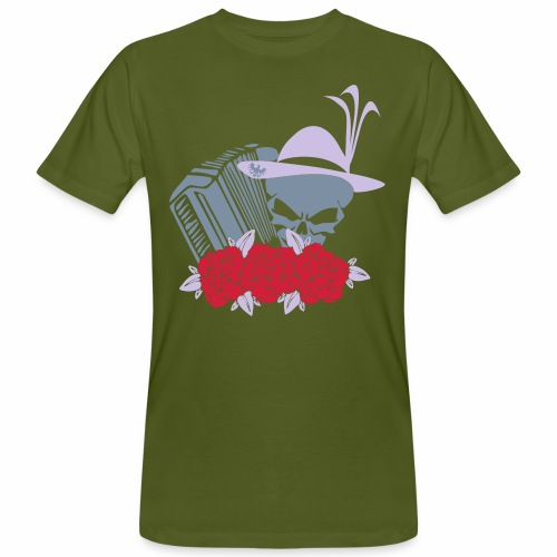 Rock Harmonika - Männer Bio-T-Shirt