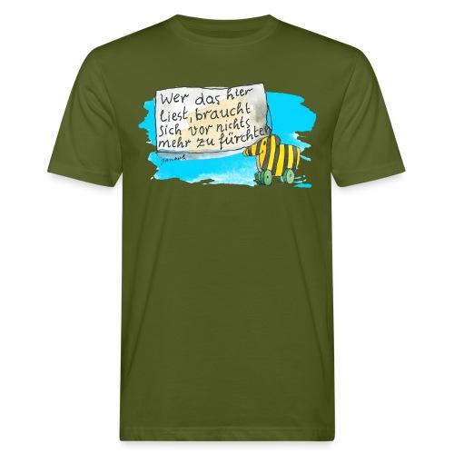 Janosch Tigerente Wer Das Liest Spruch - Männer Bio-T-Shirt