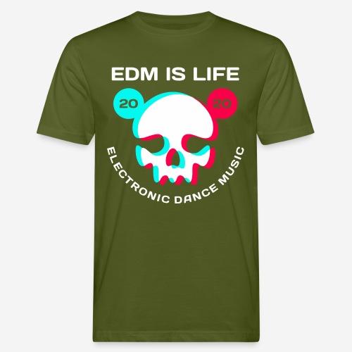 edm electronic dance music - Männer Bio-T-Shirt