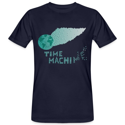 Time Machine - Männer Bio-T-Shirt
