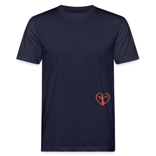 chooselove qu 4c symbol png - Männer Bio-T-Shirt