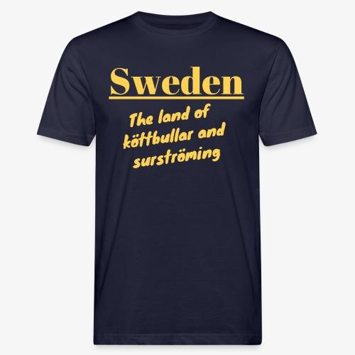 Landet av köttbullar - Ekologisk T-shirt herr