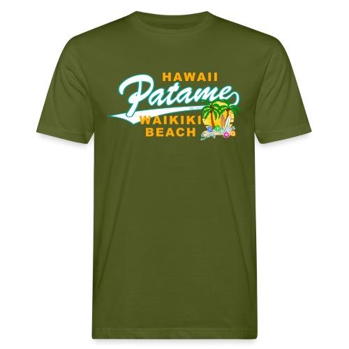 Patame Waikiki Beach - Männer Bio-T-Shirt