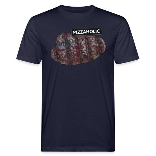 Pizzaholic - Økologisk T-skjorte for menn