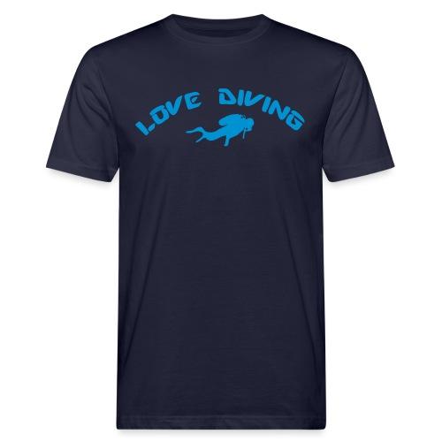 love diving - Männer Bio-T-Shirt