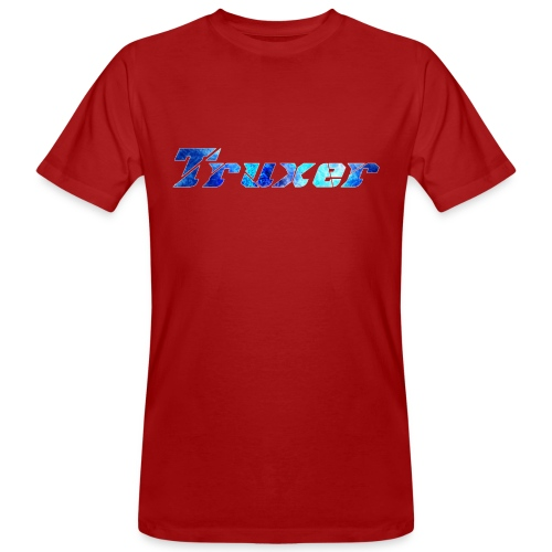 Truxer Name with Sick Blue - Men's Organic T-Shirt